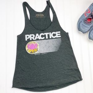 Spiritual Gangster Practice Graphic Tank Top M